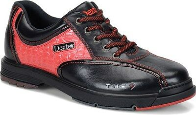 Dexter THE 9 High Performance Bowling Shoes Red and Black Limited Edition