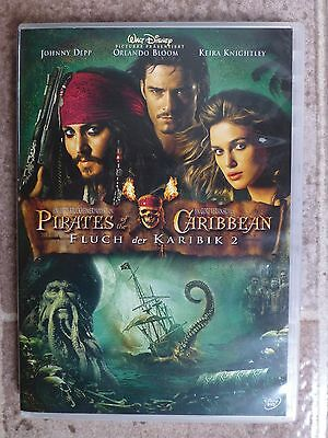 Fluch der Karibik 2 - Pirates of the Caribbean      DVD  neuwertig
