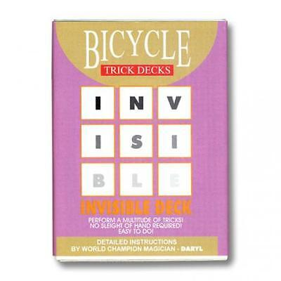 Invisible Deck Bicycle (Blue) - Zaubertrick