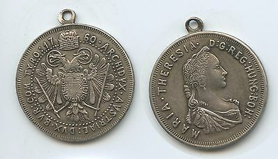 M378 - Tragbare Medaille Österreich Kaiserin Maria Theresia 1760