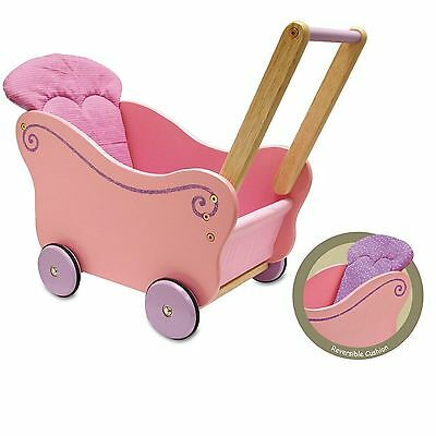 I'm Toy Dollie Pram Wooden Dolls Pram - NKT