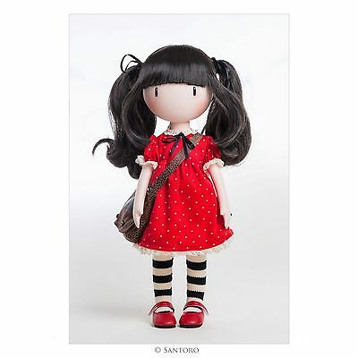 Santoro London Gorjuss Doll Ruby - New