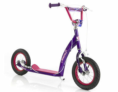 Eurotrike Xero 12 BMX Scooter Pink and Purple - NKT