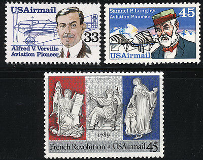 US Scott # C113, C118 & C120 Airmails Set of 3  MNH***FREE SHIP***