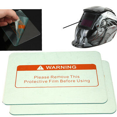 Solar Auto Darkening Welding Helmet Mask Replaceman Lens Filter Shade Cover