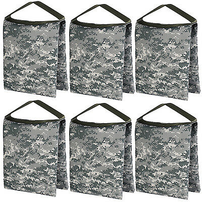 Neewer 6 Packs 26x30cm Sac de Sable Vide Durable de Vidéo Studio Photographie