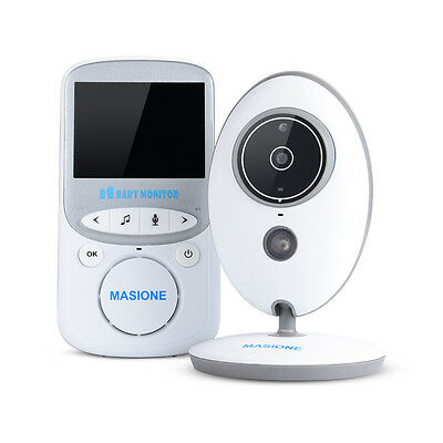 Digital LCD Video Baby Monitor Wireless Camera Remote Motion Audio Night Vision