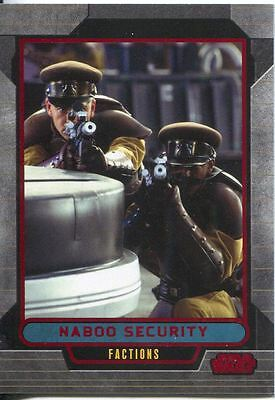 Star Wars Galactic Files Red Parallel #321 Naboo Security