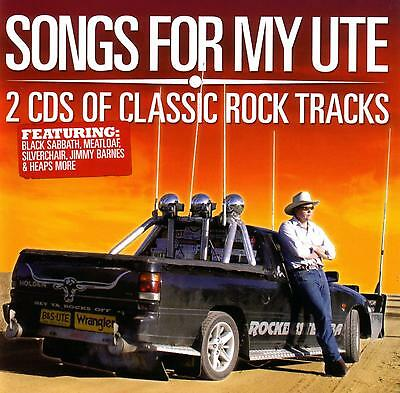 Songs For My Ute - 2 Cd's Of Classic Rock Tracks / Various Artists