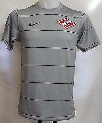 Spartak Moscow Player Grey Training Top By Nike Adults Size Xl Brand New