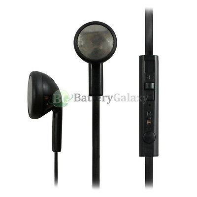 50 Headphone Earphone Headset Handsfree Mic Volume for iPhone / Android Phone