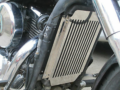 Kawasaki Vn800 Classic (95-06) Beowulf Radiator Protector, Cover, Grill K043