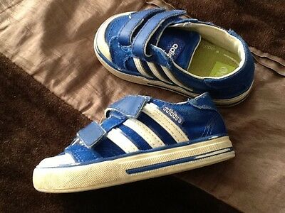 ADIDAS Baby Boys Trainers Size 4 Infant