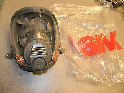3M 6800 Full-Face Respirator - Medium New