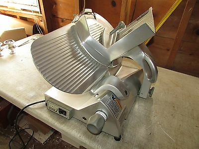 "Hobart EDGE 12"" Commercial Meat Cheese Deli Butcher Slicer~VIDEO~FREE SHIP"