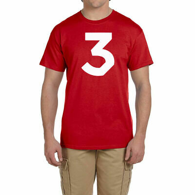 Chance The Rapper 3 Logo T Shirt Hip Hop Music Tee Rapper T-Shirt Acid Rap New
