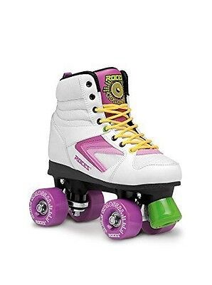 Roces 450607-001 rollerskates colossal 39 Blanc - White-Purple-Yellow NEUF