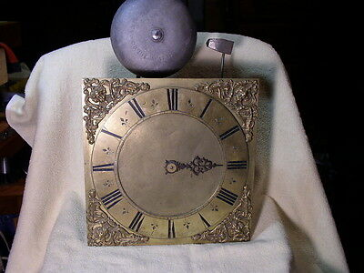 Rare Antique Clock Movement~George Clayton, Maker~Marple, England~ca. 1680s~