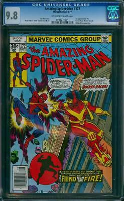 Amazing Spider-Man # 172  1st app of the Rocket-Racer !  CGC 9.8  scarce book !