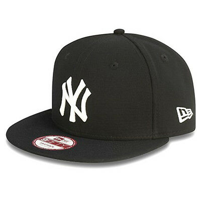 New Era Mens 9Fifty Baseball Cap.new York Yankees Black Flat Peak Snapback Hat 3