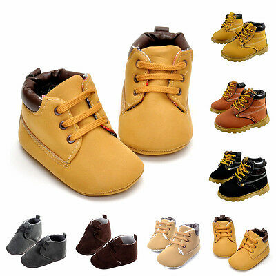 Baby Toddler Fleece   Snow Ankle Boots Fleece Crib Shoes Anti-slip Sneakers
