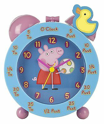 Peppa Pig Time Teacher Alarm Clock  *BRAND NEW*