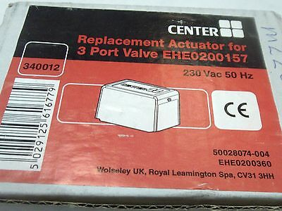 Center Replacement Actuator For 3 Port Mid Position Valve EHE0200157 ( 340012 )