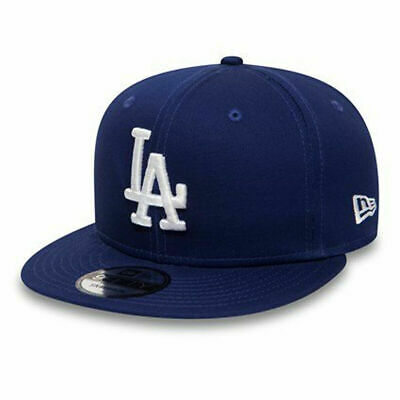 New Era Mens 9Fifty Baseball Cap.mlb La Dodgers Blue Flat Peak Snapback Hat 1954