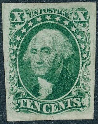 drbobstamps US Scott #15 No Gum XF Mint Stamp, Creases Cat $1800