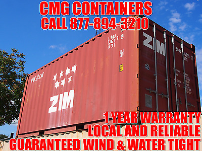 Shipping Containers:  20' Storage Containers / Shipping Containers / Newark, Nj