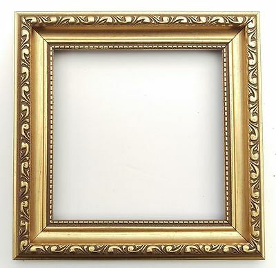 Bargain Bulk Square Glass Picture Photo Frames  (NO MOUNT) Wood Effect and Wood