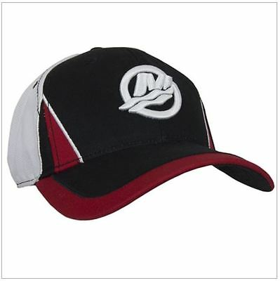 Mercury Marine Outboards Performance Mesh Back RPM Cap Hat Red/Black/White