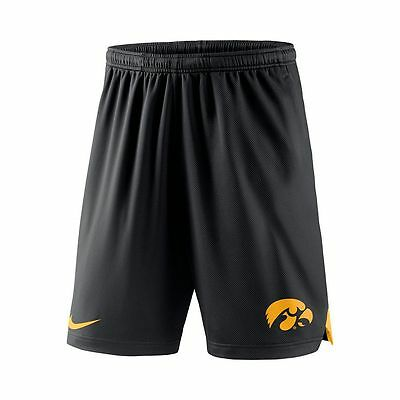 NEW Men's NIKE SHORTS IOWA HAWKEYES Dri-FIT BASKETBALL FOOTBALL ATHLETIC GYM