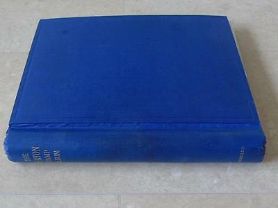 Merton Stamp Album with G.B. Stamp Collection 1 d black 2 x 1840 2d blue etc etc