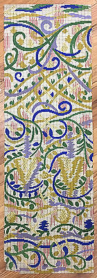 Antique Beautiful 19th C. French Carpet Painting  (2010)