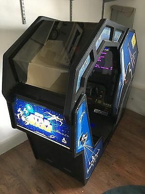 Atari Star Wars Arcade Cockpit Replacement Canopy Perspex (One Set Of 2 Pieces)