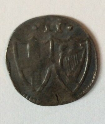 Silver Commonwealth (Cromwell Era) Half Groat 1649-60 AD. ENGLAND.  Lot-28