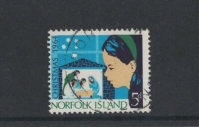 1964 Norfolk Island Christmas SG 57 fine used