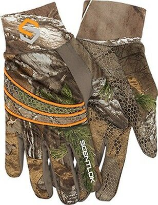 Scentlok 80130-056-L Men's Savanna Lightweight Shooters Glove Realtree Large