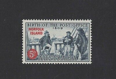 1959 Norfolk Island Anniversary of the Post Office SG 23 muh