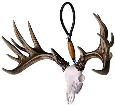 SPG VFG1036 Big Rack Whitetail Skull Shedz Figurine