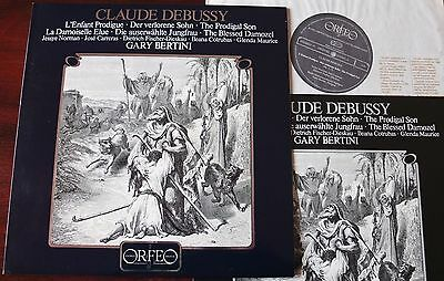 Debussy The Prodigal Son/the Blessed Damozel Lp Bertini Orfeo S012821A Dig Nm