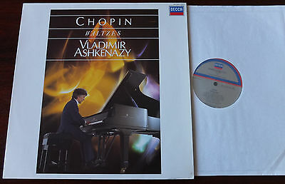 Decca 414 600-1 Chopin Waltzes Piano Lp Ashkenazy Nm- Dig/analog Holland (1986)