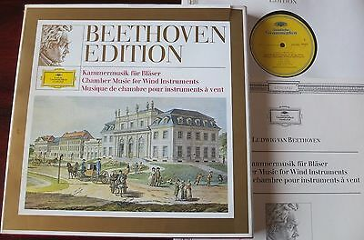 Dgg 2720 015 Beethoven Chamber Music For Wind 4-Lp Berlin Nm Germany (1970)