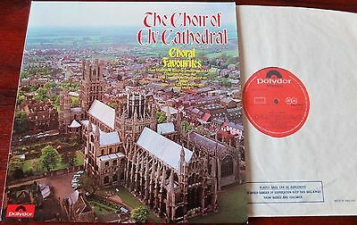 Ely Cathedral Choir Choral Favourites Lp Wills Polydor 2460199 Nm England