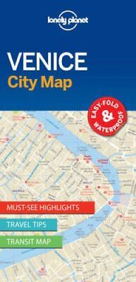 Lonely Planet Venice City Map by Lonely Planet 9781786575005 (Sheet map, 2017)
