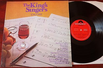 The King's Singers Encore Lp Polydor (1971) Ex England