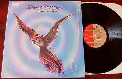 The King's Singers Out Of The Blue Lp Emi Emc 3023 (1974) Ex++ Gt Britain