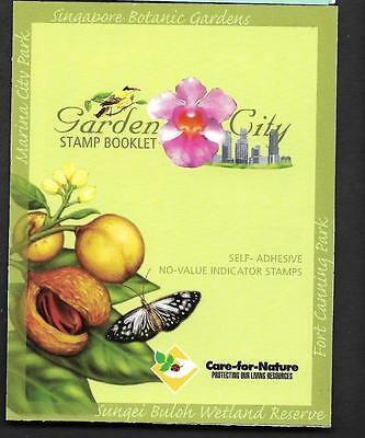 Singapore, 2004 Garden City Booklet, Mnh Complete