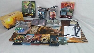 MTG Magic the Gathering Winter Gift Bundle - Playmat Deckbox Boosters Decks